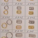 Metalowe elementy do bielizny